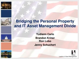 Bridging the Personal Property and IT Asset Management Divide