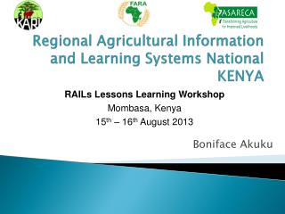 Regional Agricultural Information and Learning Systems National  KENYA