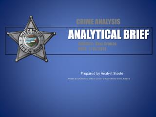 ANALYTICAL BRIEF