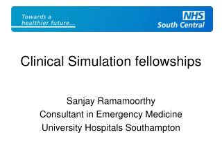 Clinical Simulation fellowships
