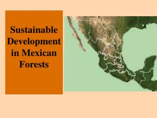 Sustainable Development in Mexican Forests