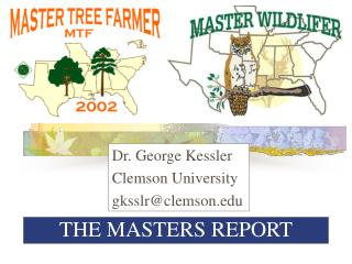 THE MASTERS REPORT