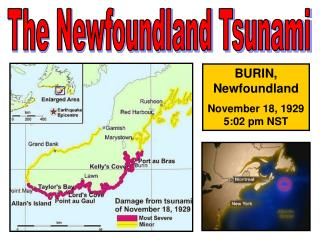 The Newfoundland Tsunami