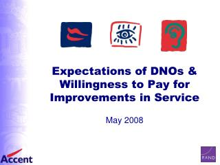Expectations of DNOs & Willingness to Pay for Improvements in Service