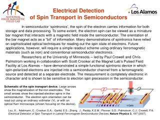 Electrical Detection of Spin Transport in Semiconductors