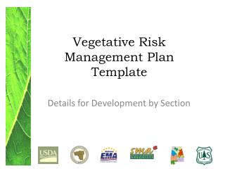 Vegetative Risk Management  Plan Template