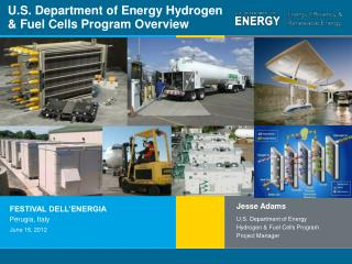 U.S. Department of Energy Hydrogen & Fuel Cells Program Overview