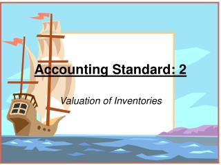Accounting Standard: 2