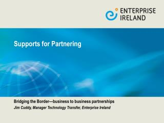 Supports for Partnering