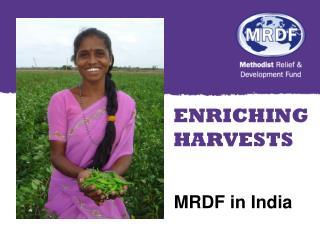 MRDF in India