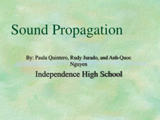 Sound Propagation