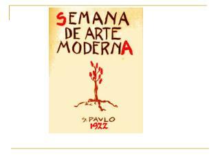 Principais nomes do modernismo brasileiro