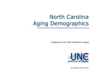 Aging in North Carolina