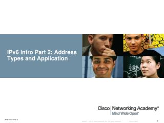 IPv6 Intro Part  2: Address Types and Application
