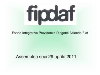 Fondo Integrativo Previdenza Dirigenti Aziende Fiat