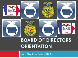 Board of directors orientation