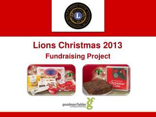 Lions Christmas 2013