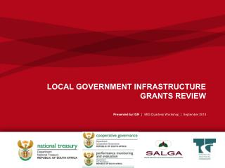 LOCAL GOVERNMENT INFRASTRUCTURE GRANTS REVIEW