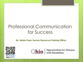 Professional Communication for Success