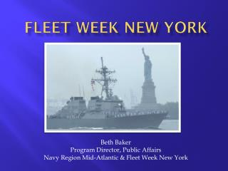 Fleet Week new York