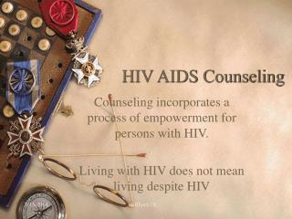 HIV AIDS Counseling
