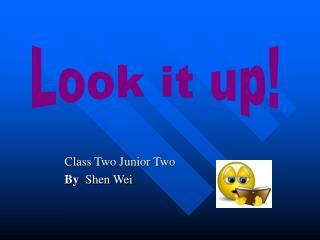 Class Two Junior Two By   Shen Wei