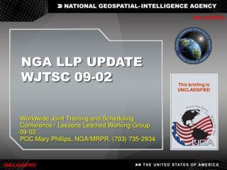 NGA LLP UPDATE  WJTSC 09-02