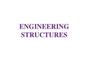 ENGINEERING STRUCTURES