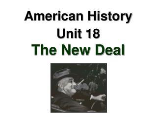 American History Unit 18