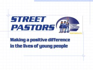 Street Pastors Portsmouth