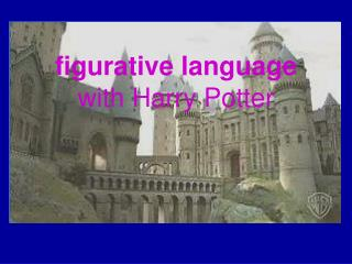 figurative language with Harry Potter