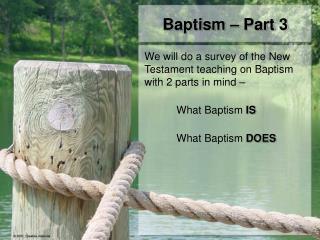 Baptism – Part 3