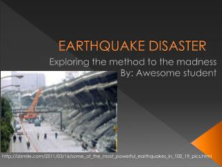 EARTHQUAKE DISASTER