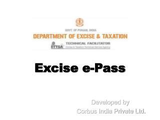 Excise e-Pass