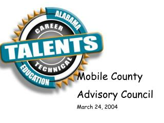 Mobile County Advisory Council March 24, 2004