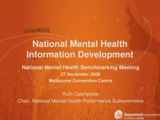 National Mental Health Information Development