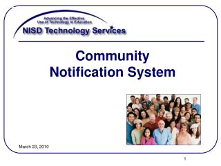 Community Notification System
