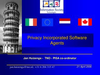 Privacy Incorporated Software Agents