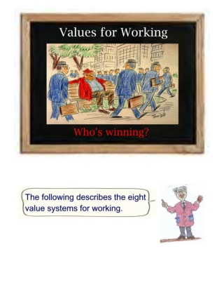 Value Systems