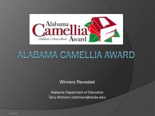 Alabama Camellia Award