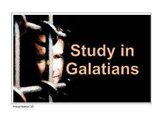 Study in Galatians