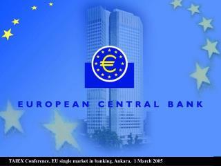 A European single market in banking