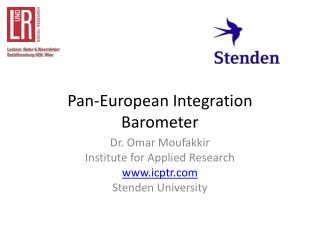 Pan-European Integration Barometer