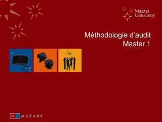 M�thodologie d�audit Master 1
