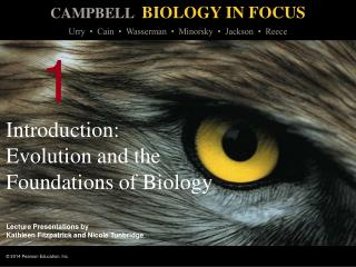 Introduction:  Evolution and the Foundations of Biology