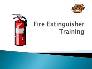 Training card fire extinguisher pass