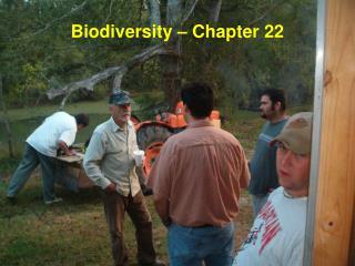 Biodiversity – Chapter 22