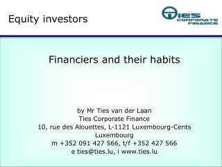 Equity investors
