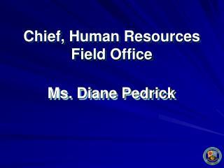 Ms. Diane Pedrick