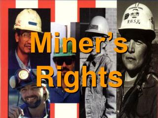 Miner's Rights